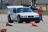 SCCA Pennington March 16, 2008 : Amy raced the E30 in STS &quot;W&quot; and Terry raced the Alpha car in XP at the first SCCA event for 2008 at the small concrete lot at Pennington Field. Not our favorite site to race (probably our least favorite, but at least its &quot;close&quot;) yet the weather was nice enough, and we had a big gap in our schedule until the next event we could run, so we took both cars out. The Alpha car started the day on corded front tires, which only got worse and made for awful course times. Then it ran out of gas on my 3rd and fastest run. This defines &quot;FUBAR&quot;. Felt like I wasted the day; I should have just entered the E30 in STS. But man... These two cars couldn't be more different! The E30 ran on the new 195/50/15 Bridgestones for the first time and they just started to get scrubbed in by her 3rd and final run. Still have lots of testing and improvements to make to both cars. Step one: don't show up on corded race tires! Step 2: put fuel in the tank! Stupid, stupid, stupid...