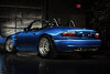 McCall's BMW E36/7 Z3 M Roadster (with LS1 V8) : Jason has been a great tester for several Vorshlag products on the many cars he has owned over the years (RX8, EVO 9, Supercharged Miata, E36 M3, Pontiac G8) and tested our E36 LS1 swap kit in his BMW M Roadster. After finding an engine-less M Roadster in Florida we drove 36 hours non-stop to go pick it up and bring it back to Dallas. This car was built for autocross (SCCA X Prepared) and Time Trial use (NASA TTU) and ended up at 2450 pounds. It has 18x10.5F/18x11R CCW wheels, giant Hoosiers, and lots of other go fast goodies. Oh, and that LS1 aluminum 5.7L V8 and T56 6-spd transmissions! This car is for sale here: http://www.vorshlag.com/cars-z3m-ls1.php