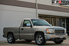 "Vorshlag GMT800 Parts Hauler : Pictures of the 1999 GMC Sierra 1500 that was purchased on 3/36/2013 for use as the Vorshlag ""parts hauler"". This 5.3L V8 powered, short bed/regular cab truck has seen some miles but we will freshen things up and add our own ""Vorshlag touches"" to it. We will use it to pick up pallets and parts, pull an open trailer around town now and then, and other various duties here at Vorshlag.   The term ""GMT800"" refers to the generation of truck, which was built from 1999-2006 and included radical departures from previous GM trucks, including: hydroformed frame rails, LSx based engines, 4 wheel disc brakes with ABS, and more. Read more here: http://en.wikipedia.org/wiki/GMC_Sierra"