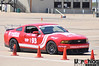 SCCA at Crandall, Sept 23, 2012 : Amy and Terry ran the 2011 Mustang GT in ESP class at this Texas Region SCCA autocross held at the Dallas Raceway parking lot in Crandall, TX. This was the first time we autocrossed on this concrete lot and it was a challenge. There were dirty/slippery sections that caught us out but after 5 runs on course we managed to both get &quot;ok&quot; runs. Terry finished 2nd in class (7th in PAX) to Mark Madarash (1st in class and PAX) in ESP and Amy finished 3rd in class and 25th in PAX.