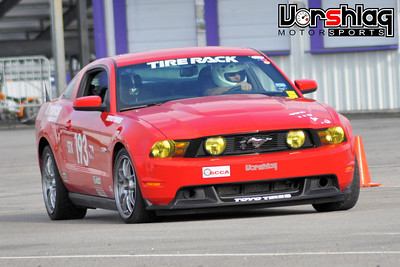 Mustang at SCCA National Tour in Houston