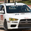 SCCA at Pennington Field, April 19, 2009 : Terry and Amy ran the EVO X with the SCCA in BSP and BSP-W. Terry did well and won BSP on the Yokohama AD07 street tires, beating the STU field by more than 1.5 seconds.