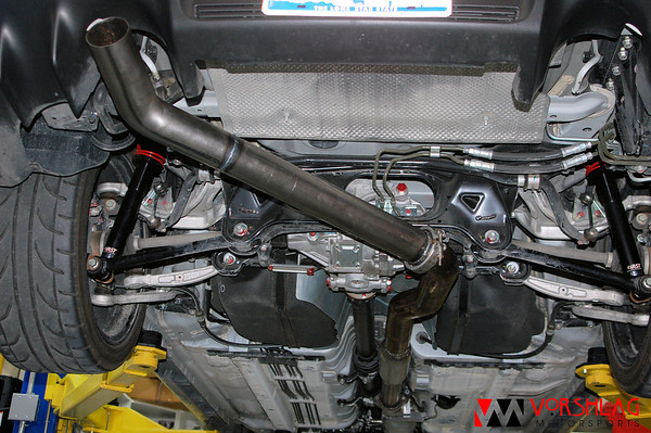 Evo x Straight Pipe Length of 3 Straight Pipe