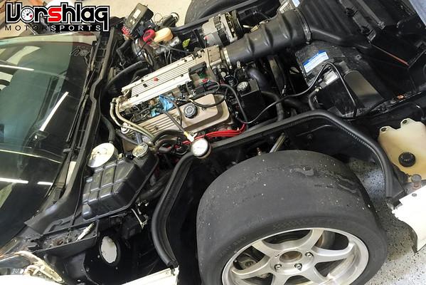 Updates to our TTC 92 Corvette, Project #DangerZone