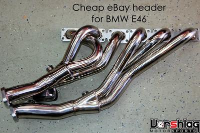 Vorshlag BMW E46 - Daily Driven Track Car Project - Vorshlag